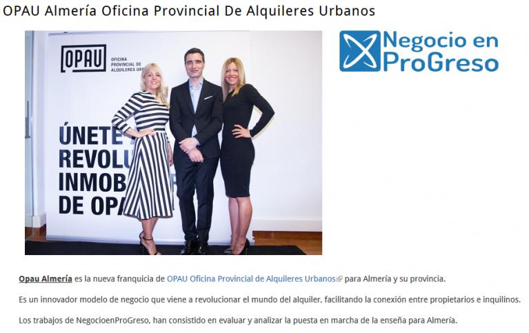 OPAU Almería Oficina Provincial de Alquileres Urbanos