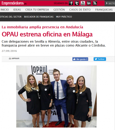 OPAU estrena oficina en Málaga