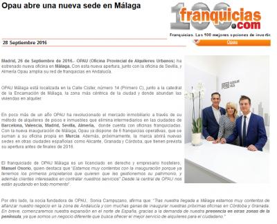 Opau abre una nueva sede en Málaga