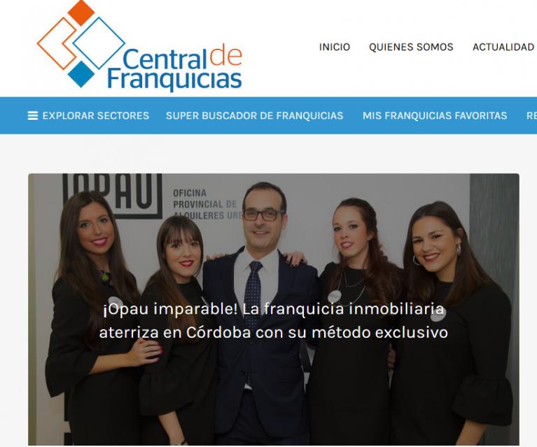 ¡Opau imparable! La franquicia inmobiliaria aterriza en Córdoba con su metodo exclusivo