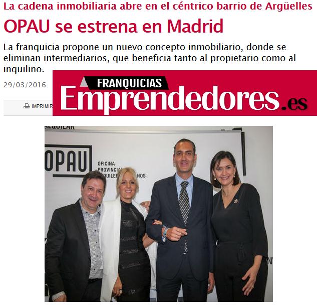 OPAU se estrena en Madrid